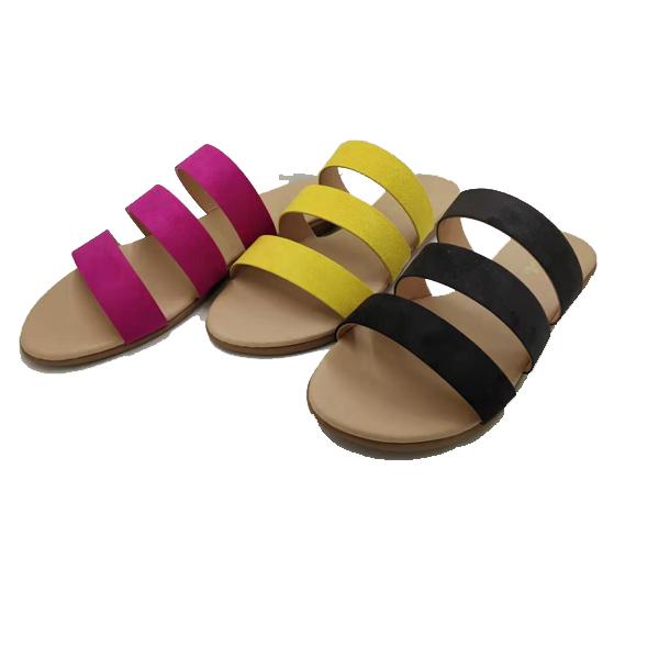 stripe slippers