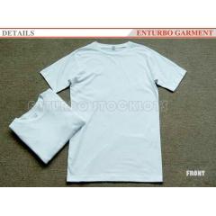 cotton plain t-shirts short sleeves