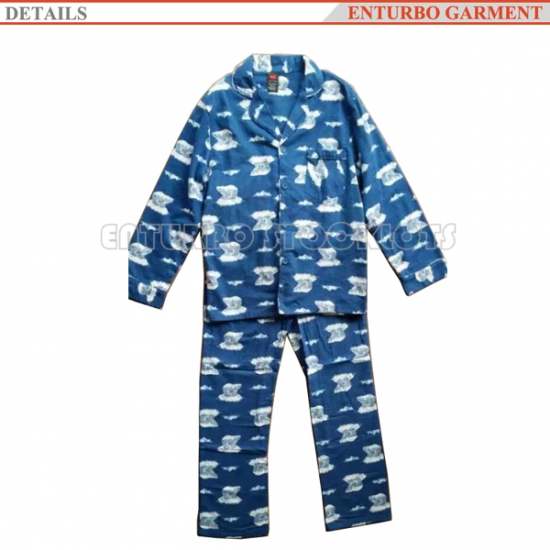 USA order stocklots mens sleepwear cotton pajamas