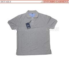 China cheap polo shirt for men manufacturer