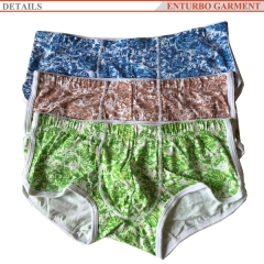 Mens cotton boxer
