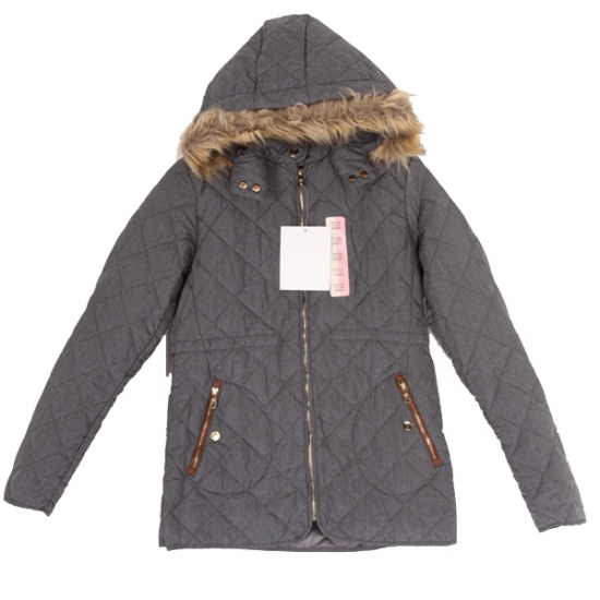 Grey Winter Parka