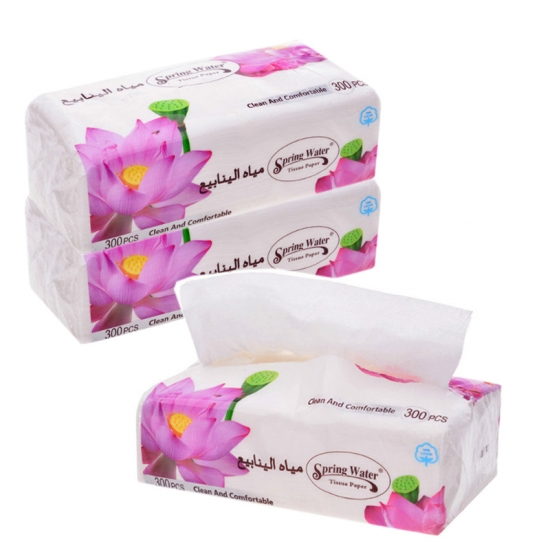Virgin Wood Facial Tissue Paper